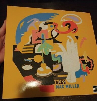 Mac Miller - Faces 2LP clear Vinyl swimming blue slide divine feminine