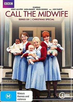 Call The Midwife Series : Season 6 + Christmas Special : NEW DVD