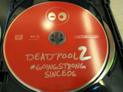 Deadpool 2: Theatrical Edition (Blu-ray Disc, 2018) 1 Disc Only, NO CASE