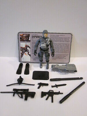 gi joe 1982-1994 shipwreck custom cast navy dress head