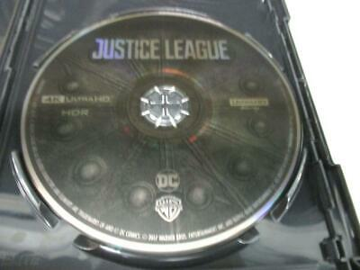 Justice League (Blu-ray 4K UHD Disc Only) 1-Disc Never Viewed NO CASE