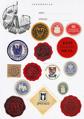 Worldwide - OFFICIAL SEALS / LABELS (cinderella collection)