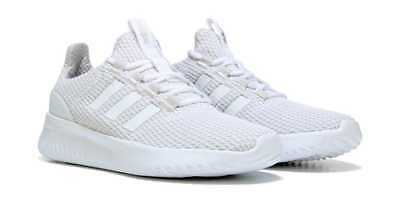 99a57eb7 ADIDAS NEO Cloudfoam ULTIMATE Women's Running Shoes White / grey Size 9.5  New!