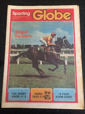 Sporting Globe October 1979 - Kingston Town On Front Cover