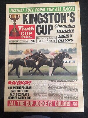 Truth Newspaper Special Cup Preview Edition Monday Nov 3Rd1980