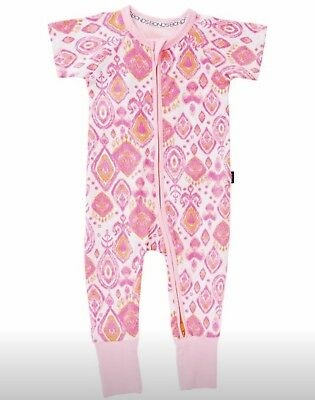BONDS zippy Zip Wondersuit 00 Pink Tribe *BNWT*. 10 Items = $5 Post