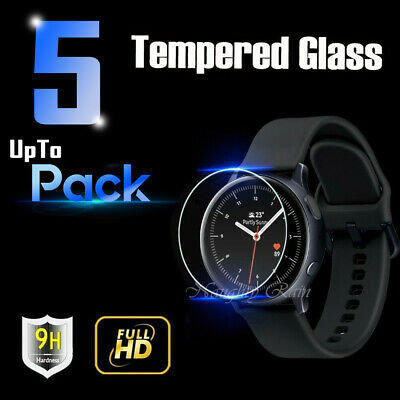 5x Samsung Galaxy Watch Active  Active 2 Tempered Glass Screen Protector Guard
