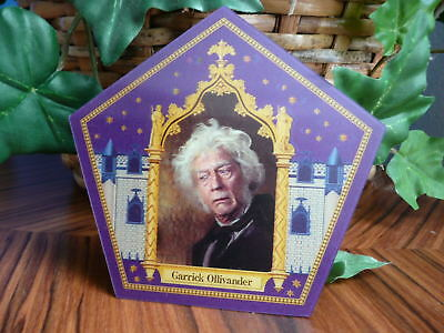 Harry Potter Chocolate Frog Card - Garrick Ollivander - VERY RARE!!