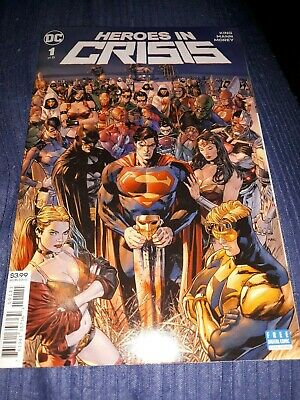 Heroes in Crisis 1    November 2018    DC Comics