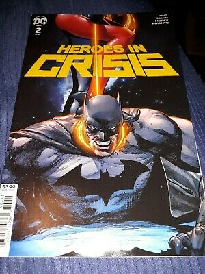 Heroes in Crisis 2    December 2018    DC Comics