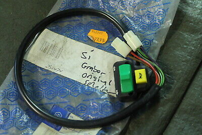 M58.2) Piaggio Si 50 original Blinker Schalter 291474 Hupe Grabor Light Switch