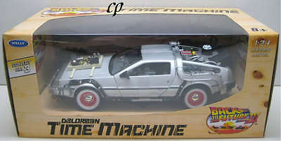 Welly Delorean Time Machine Back To The Future Iii 1:24