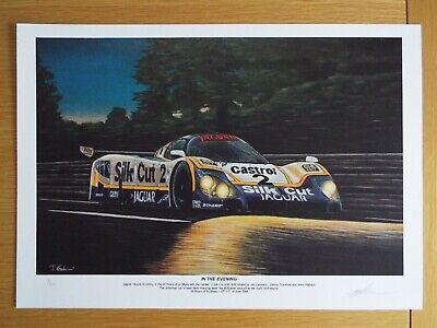 Limited Edition Jaguar XJR-9LM 24 Hours of Le Mans Motorsport Artwork Print A3