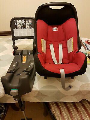 Britax Romer Baby Safe Car Seat Birth-13Kg with Isofix Base