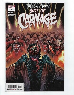 Web Of Venom Cult Of Carnage # 1 Cover A NM Marvel Pre Sale Apr 10th