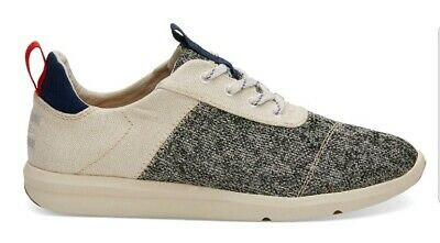 49685843c26 Toms Cabrillo Birch Technical Knit Canvas Womens Shoes Sneakers Casual Size  8