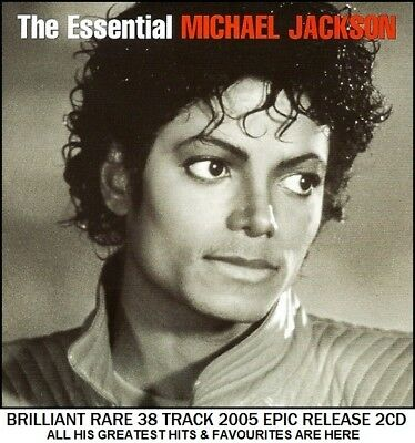 Michael Jackson - The Very Best Essential Greatest Hits Collection RARE 2CD Pop