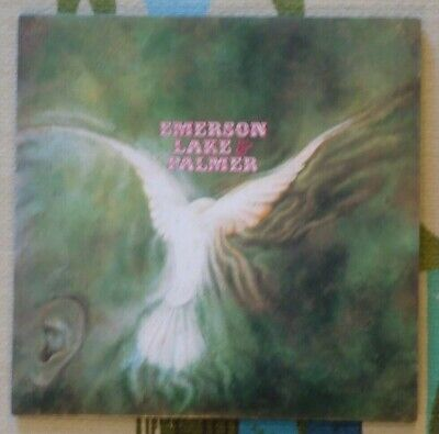 ELP Emerson Lake & Palmer S/T - Japan Mini LP CD - Prog VICP-62114