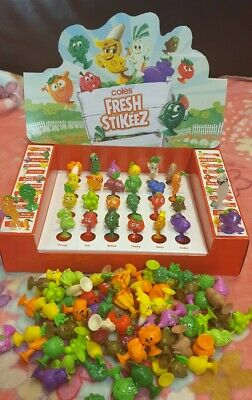 Coles Fresh Stikeez. Mini Little Shop Collectibles. Pick Your * RARE * Stickeez.