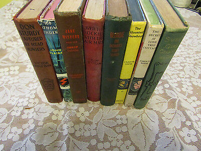 Collection Of Vintage Books For Young Adults