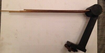Antique Westminster Chime Gong Clock 30x13cm