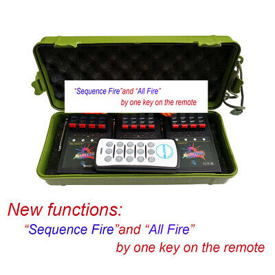 New remote function 12CH Wireless Fireworks Firing System 4th of July display