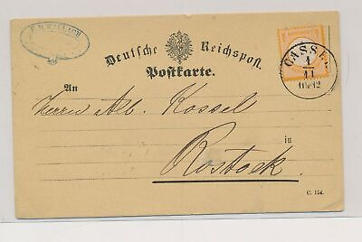 LJ77810 Germany 1870s good postcard with nice cancels used