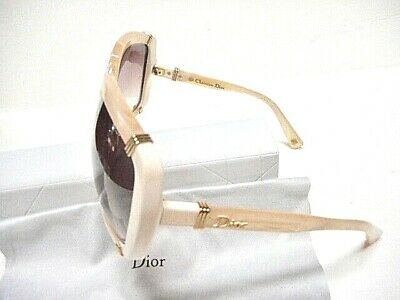 4680d2829052 Christian Dior Women's Sunglass Diorchicago1 Tryfm Pearlwhit Color Plastic  60Mm