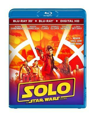 SOLO: A STAR WARS STORY - Region Free BLU-RAY 3D + DIGITAL HD DIsc