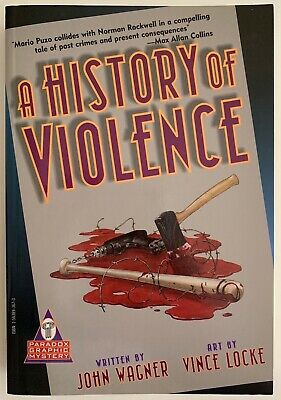 A HISTORY OF VIOLENCE 1st Print 1997 Paradox Press TPB (8.0 VERY FINE +) OOP
