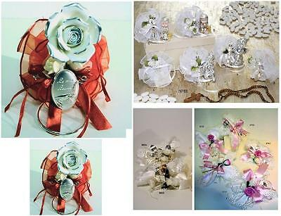 FAVOURS FULL ROSA White ceramic and oval THE MIA DEGREE 925 SILVER%