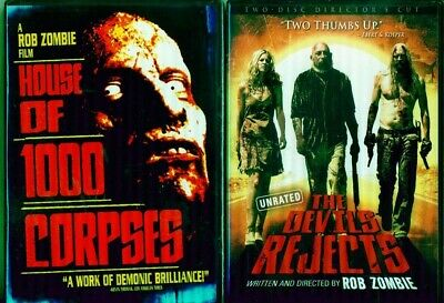 Rob Zombie House Of 1000 Corpses 1-2: Devil's Rejects + 30 Days In Hell- Nuevo