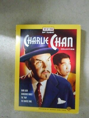 Charlie Chan Collection 4 DVDs 4 Movies Sidney Toler/Roland Winters RARE OOP