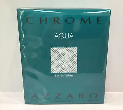 Azzaro Chrome Aqua For Men Eau De Toilette 100 Ml Spray