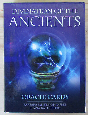 Divination of the Ancients Oracle Cards - Fortune Telling Deck and Guidebook