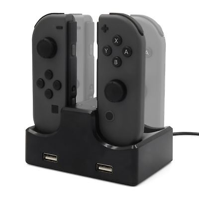 Manette Dock de Chargement Chargeur Support USB pour Nintendo Switch Joy-Con