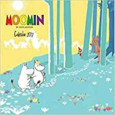 Moomin wall calendar 2017 (Art calendar) (Square), Flame Tree Publishing, New Bo