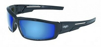 Motorcycle Glasses Sunglasses Padded G-Tech Blue Cosplay Golf Cycling Firemen