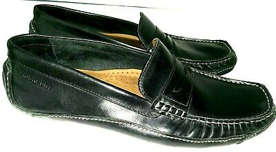 4a45bc3a8bc35 Rockport Mens Driving Loafer Black Leather Slip on Casual Shoes Size 13M  (US)