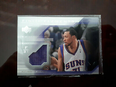 Shawn Marion Fine Elements Authentic Game Worn Jersey card 2003-2004