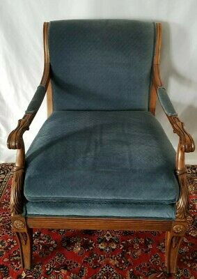 Ethan Allen Chairs Arm Chair Bergere Vintage Italian Style Roma