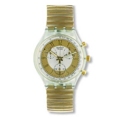 *BRAND NEW* SWATCH Originals Chrono Collection - GOLDEN GLOBE - SCG100 **RETRO**