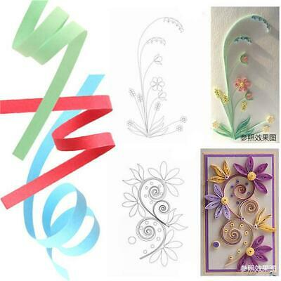 Quilling Paper 260 Stripes Mixed Color Origami Paper DIY Hand Craft 3/5/7/10mm J