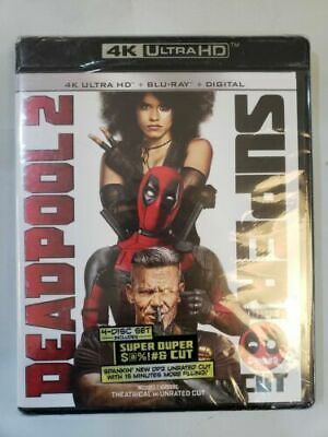Deadpool 2 Super Duper Cut (4K Ultra HD + Blu-ray) No Digital & No Slip Cover