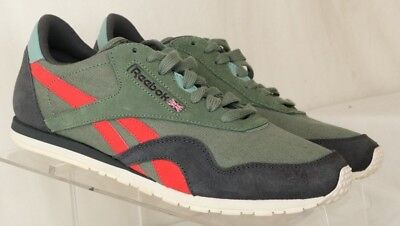 8365794a6f238 Reebok Classic CL Nylon Slim Colors Lightweight Olive Green 039501 Women s  US 8