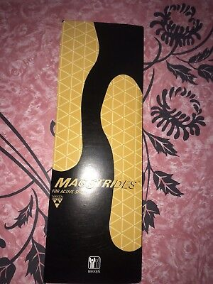 NIKKEN MAGSTRIDES ~ NIB Magnetic Insoles #2024 Active Old Stock ~ S