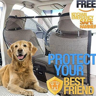 "Home Net dogs Barrier Car Net Barrier Black Size 45""x24""inches universal pets"