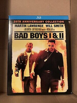 Bad Boys / Bad Boys II (Blu-ray Disc, 2015) No Digital Code