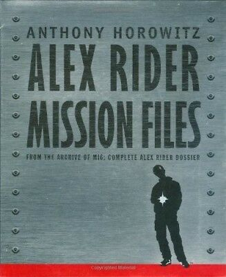 Alex Rider: The Mission Files, Anthony Horowitz, Very Good Book
