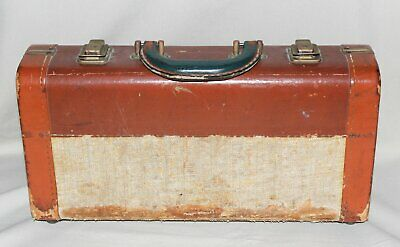 Antique Lyons Band Instrument Co Clarinet CASE ONLY Rough Condition
